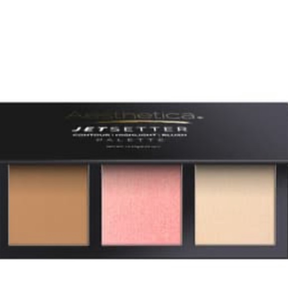 2/$20 Aesthetica Blush/Bronzer/Highlighter Palette